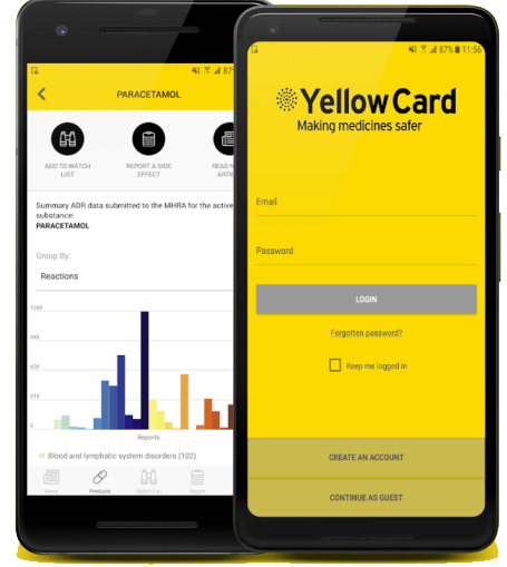 MHRA_Yellow_Card_App